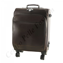 Leder Trolley - A824 - Reisetasche aus Leder