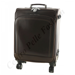 Leather Trolley - A830 - Leather Travel Bag