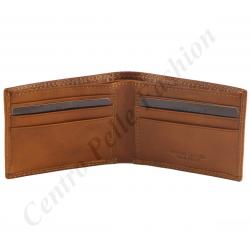 Herren Geldbörse aus Echtleder - 7001