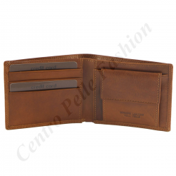 Genuine Leather Men's Wallet - 7005