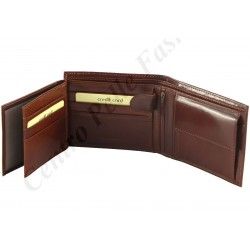 8051 - Leather Wallet For Men