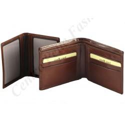 Leder Herrengeldbörsen - 7049