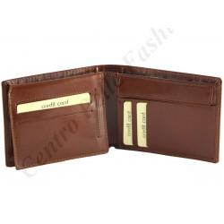 Herren Echt Leder Geldbörse - 7050