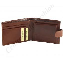 H005 - Echt Leder Geldbörse Herren