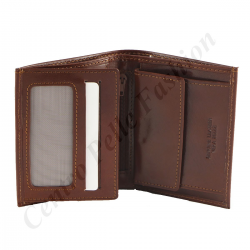 Genuine Leather Men's Wallet  - 7062