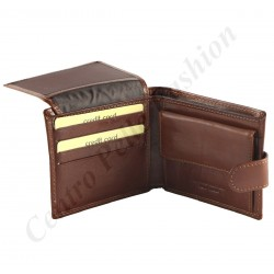 R011 - Echt Leder Geldbörse Herren