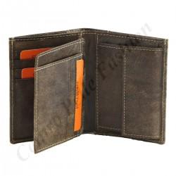 Herren Geldbörse aus Echtleder - 7125