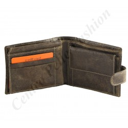Leather Wallet For Men - 7127