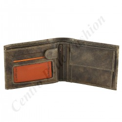 Genuine Leather Men's Wallet  - 7129