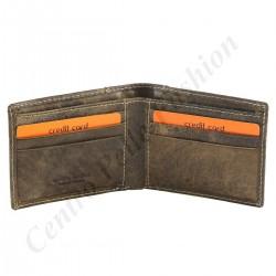 Herren Geldbörse aus Echtleder - 7131
