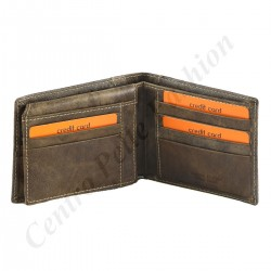 Leather Wallet For Men - 7133