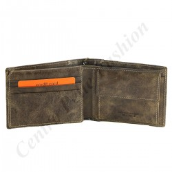 Genuine Leather Men's Wallet - 7135