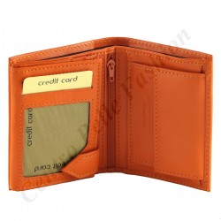 Genuine Leather Men's Wallet - 7146