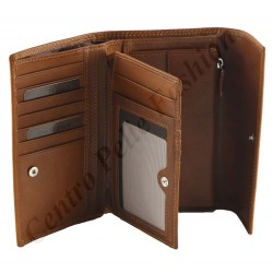 Genuine Leather Women's Wallets - 7030