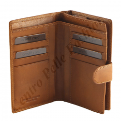 Damen Geldbörse aus Echtleder - 7034
