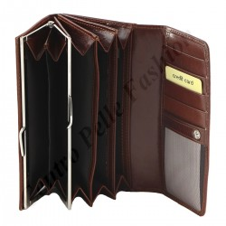 Genuine Leather Women's Wallets - 7075