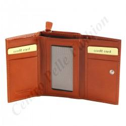 Leder Geldbörse für Damen - 7085