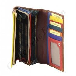 Damen Leder Geldbörse - 7110