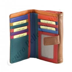 Genuine Leather Women's Wallets - 7111