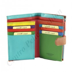 Leather Women's Wallets - 7117