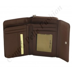 Genuine Leather Women's Wallets - 7151