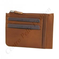 Kartenhalter Leder - 7042
