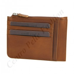 Leather Card Holder - 7042