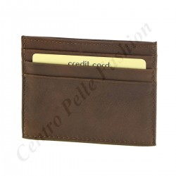 Leder Kreditkarteninhaber - 7090