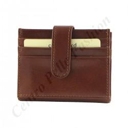 Leather Card Holder - 7093