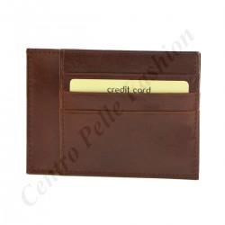 Leder Kartenhalter - 7094
