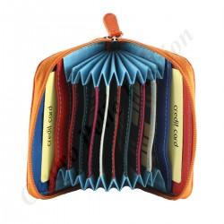 Leather Credit Card Holder - 7106