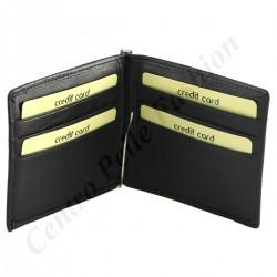 Echtes Leder Kartenhalter - 7147