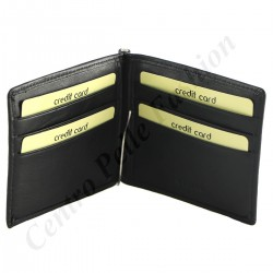 Leather Credit Card Holder - 7147