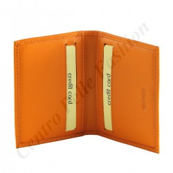 Leather Card Holder - 7158