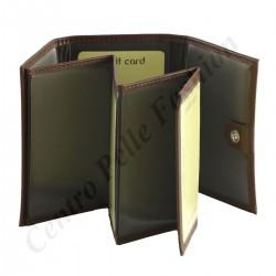 Leder Kartenhalter - 7159