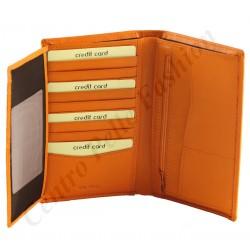 Kartenhalter aus Leder - 7157