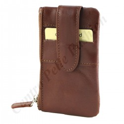 8069 - Leather Coin Holder