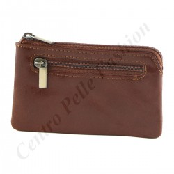 Leather Coins Holder - 7096