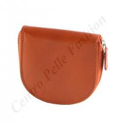 Leather Coin Holder - 7097