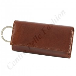 7023 - Leather Keychain