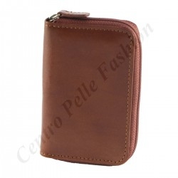 Genuine Leather Keychain - 7099