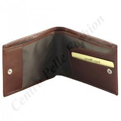 8201 - Herren Geldbörse aus Echtleder