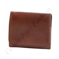 Leather Coins Holder - 7104