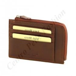 Echtes Leder Kartenhalter - 7162