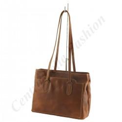 Damentaschen Leder - 1003 - Shopper / Schultertasche