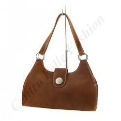 Leder taschen für Damen - 1009 - Schulter / Handtasche