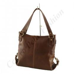 Leder Taschen Damen - 1011 - Shopper / Schultertasche