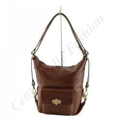 Damen Tasche aus Leder - 1012 - Shopper / Schultertasche