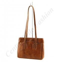 Leather Shoulder Bag - 1047 - Genuine Leather Bags