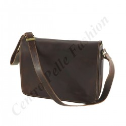 Leather Messenger Bag - 2002 - Leather Bags Unisex